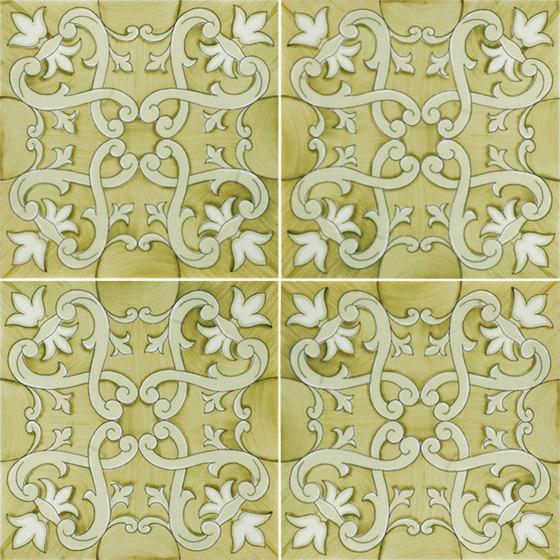 Fiori Scuri Recamone Verde by Ceramica Francesco De Maio | Ceramic tiles