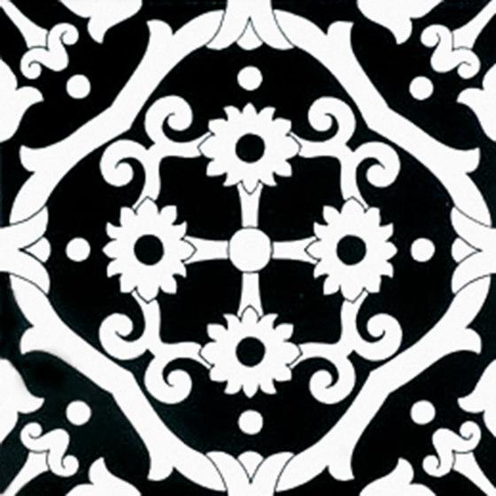Fiori Scuri Tovere Nero by Ceramica Francesco De Maio   Ceramic tiles