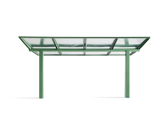 Cover roof by Vestre | Bus stop shelters