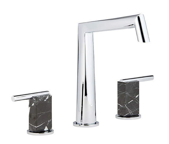 Montaigne | Rim mounted 3-hole basin mixer by THG Paris | Wash basin taps