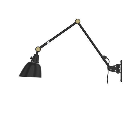 Midgard Modular | Typ 505 | Wall | Swiveling | Double Arm | 40 x 30 by Midgard Licht | Wall lights