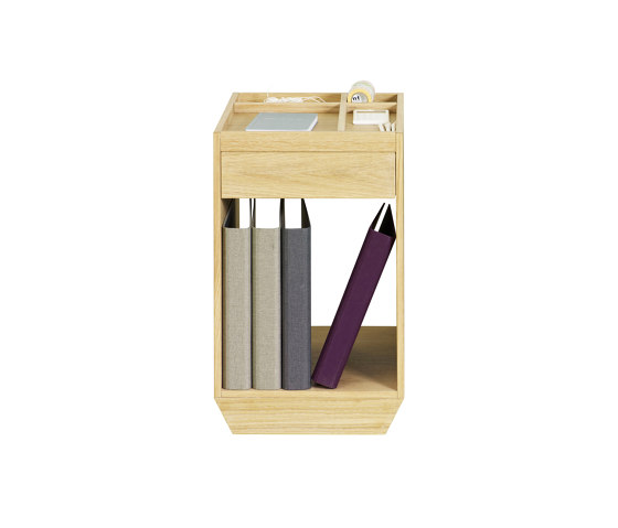 File Drawer & Shelf by ASPLUND | Side tables