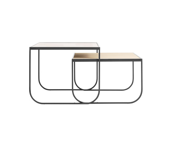 Tati Side Table Square Set by ASPLUND | Nesting tables