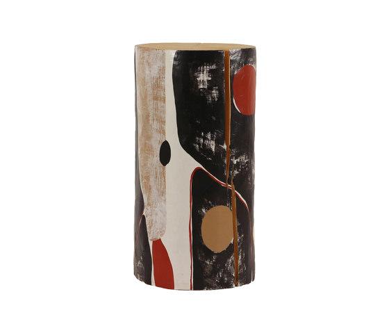 Alexandre HandPainted Log Table by Pfeifer Studio   Side tables