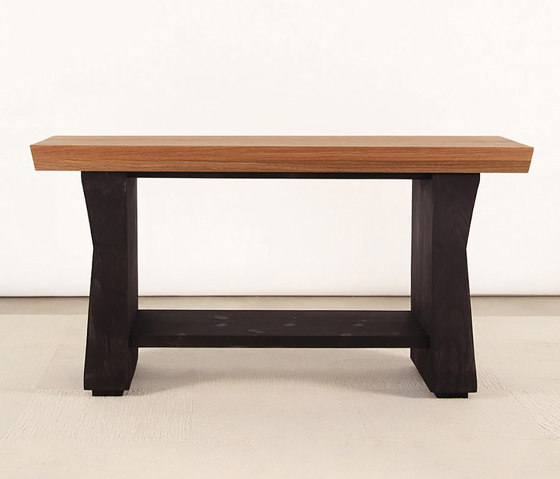 Carvalho Solid Wood Console Table by Pfeifer Studio | Console tables