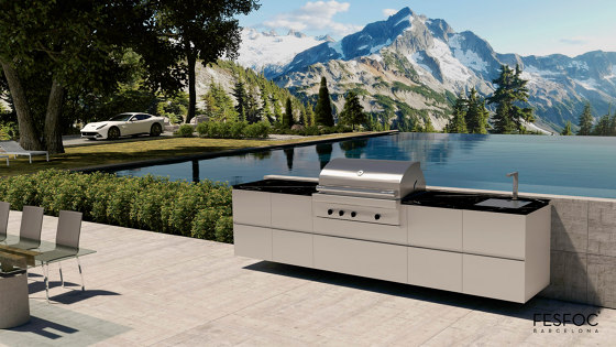 EMPIRE OUTDOOR KITCHEN by Fesfoc | Fitted kitchens