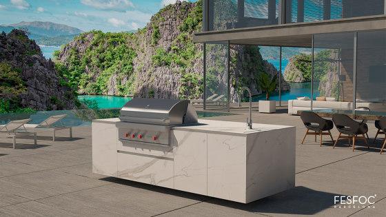 EMPIRE OUTDOOR KITCHEN ISLAND by Fesfoc | Outdoor kitchens