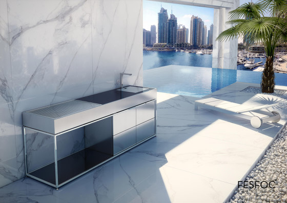 LUXURY CHARCOAL BARBECUE COCOA by Fesfoc | Fitted kitchens