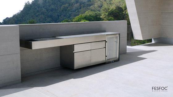 LUXURY FLOATING BBQ KRAKATOA by Fesfoc | Outdoor kitchens