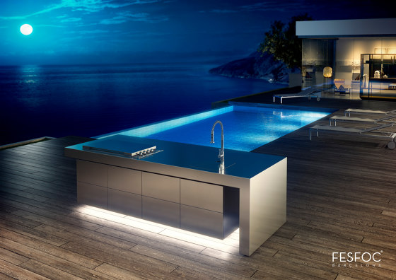 LUXURY GARDEN KITCHEN ISLAND by Fesfoc | Island kitchens