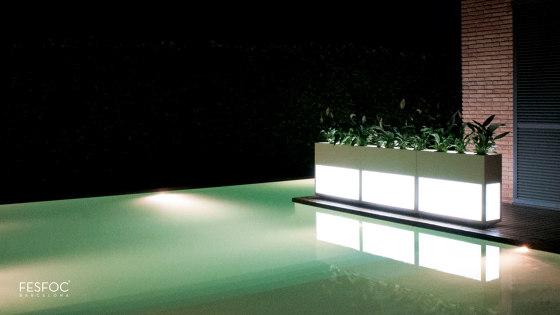 LUXURY LIGHTING PLANTER LIGHT HOUSE by Fesfoc | Outdoor floor lights