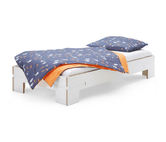 Gurtbett | Bed, toddler bed white by Magazin® | Kids beds