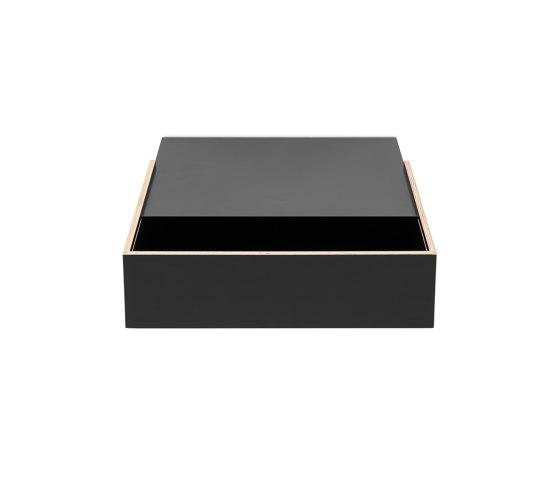 Wandsinn | Drawer, black by Magazin® | Shelving
