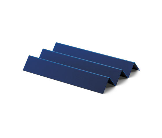 Stapler | File Tray Stack, knicker saphire blue RAL 5003 by Magazin® | Desk tidies