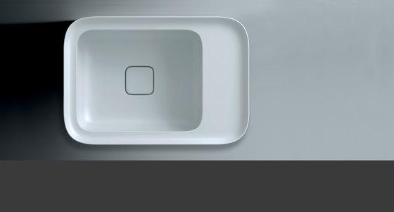 Cameo Sink | 55 x 38 h4 by Valdama | Wash basins