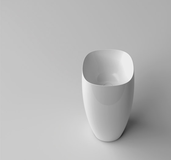 Seed Sink | Freestanding 45 x 45 h90 by Valdama | Wash basins