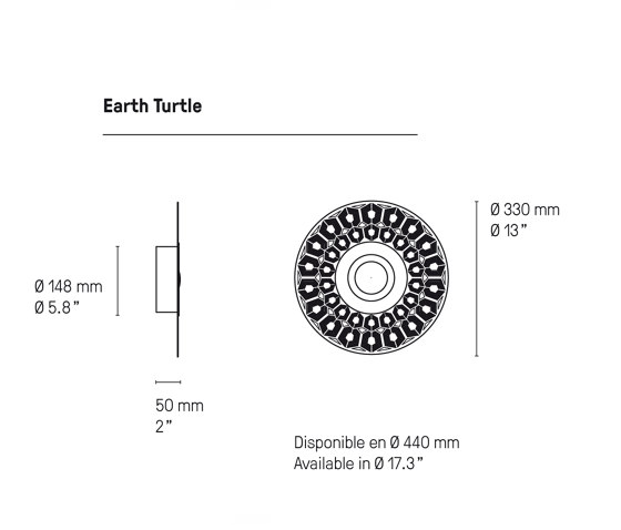 Turtle 330 by CVL Luminaires | Wall lights