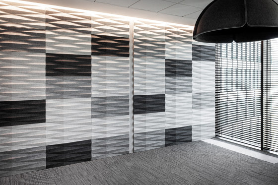 VANK_WALL by VANK | Sound absorbing wall systems