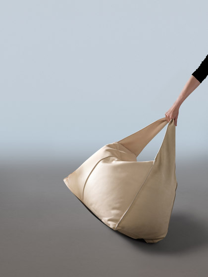 Bag   Ottoman by My home collection   Beanbags