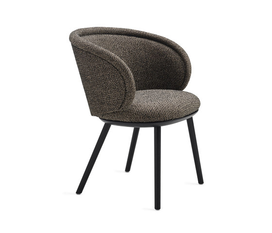 Ona | Armchair with wooden frame by FREIFRAU MANUFAKTUR | Chairs