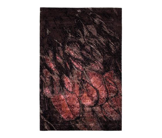 FLOOR JEWELS   NYIMA   Red by FREIFRAU MANUFAKTUR   Rugs
