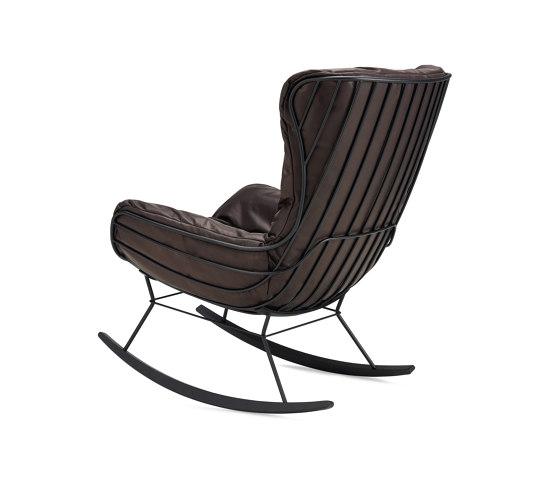 Leyasol   Indoor   Rocking Wingback Chair by FREIFRAU MANUFAKTUR   Armchairs