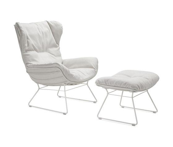 Leyasol | Outdoor | Wingback Chair by FREIFRAU MANUFAKTUR | Armchairs