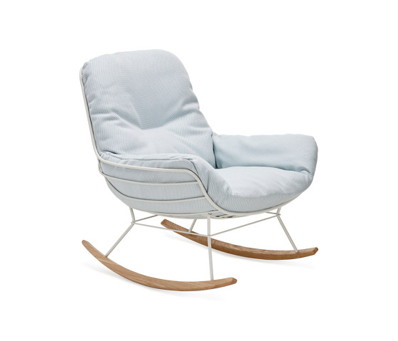 Leyasol | Outdoor | Rocking Lounge Chair by FREIFRAU MANUFAKTUR | Armchairs