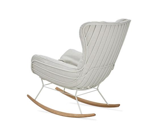 Leyasol | Outdoor | Rocking Wingback Chair by FREIFRAU MANUFAKTUR | Armchairs