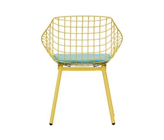 Canasta with cushion by Musola | Chairs