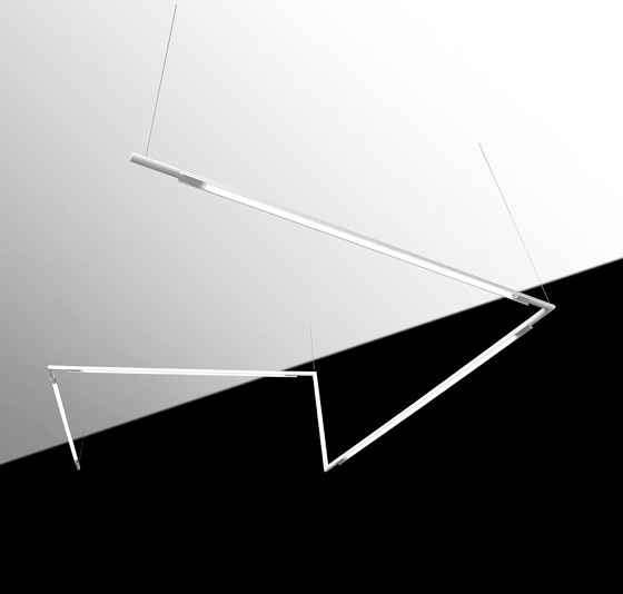 Slim System by Simon   Suspended lights