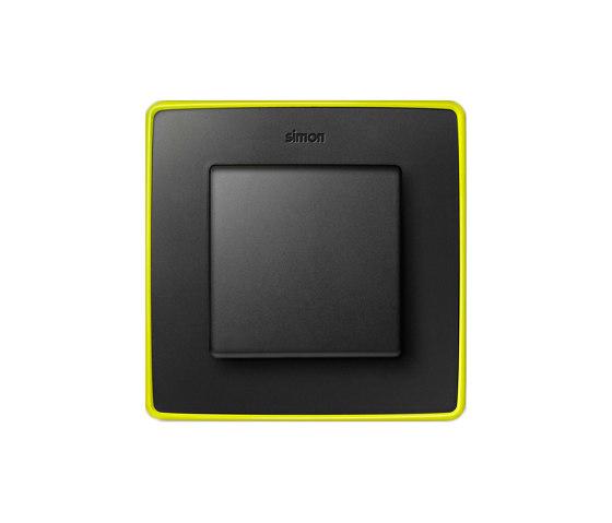 Detail 82 | Select Switch Graphite Fluorescent di Simon | Interruttore bilanciere