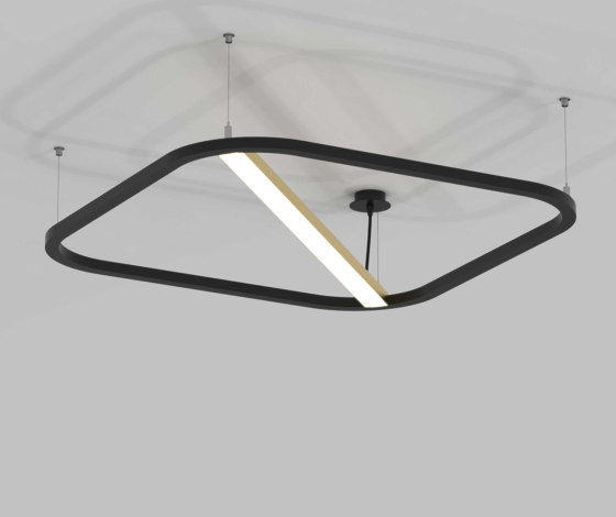 MORFI DIAGONAL by PETRIDIS S.A | Suspended lights