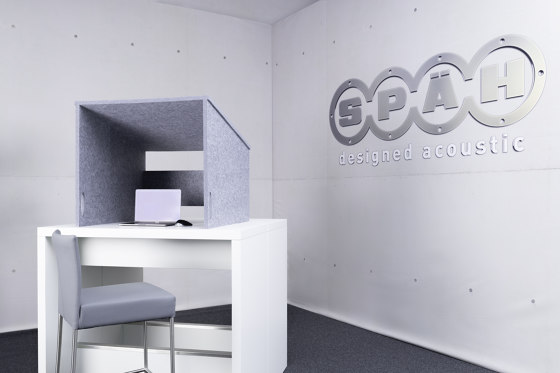 recycled PET | designed acoustic tw@rkle by SPÄH designed acoustic | Sound absorbing table systems