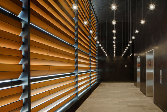 Capitol Vista Ankara by Prodema | Wood veneers