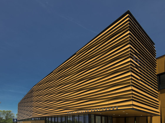 Harry Parker Community Boat House by Prodema | Wood veneers