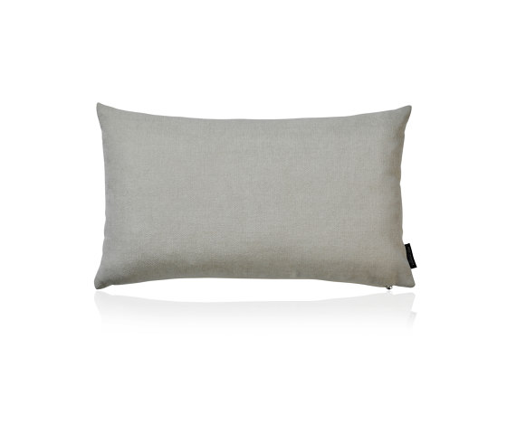 Smooth ivory |50x30| by Manufaktur Kissenliebe | Cushions