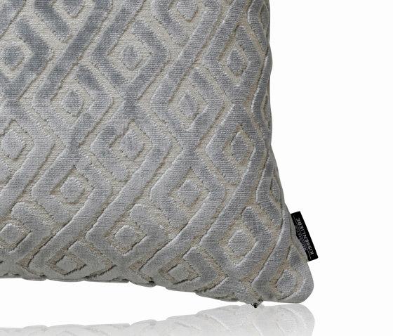 Tarsia slateblue |50x50| by Manufaktur Kissenliebe | Cushions