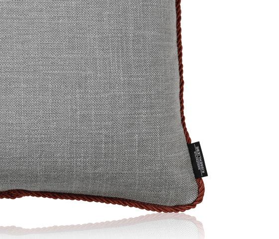Urban Frame stone  40x40  by Manufaktur Kissenliebe   Cushions