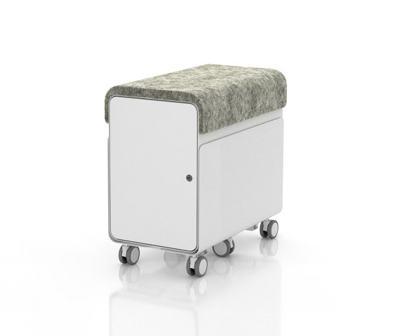 Revi | Personal Storage Locker by AMQ Solutions | Pedestals