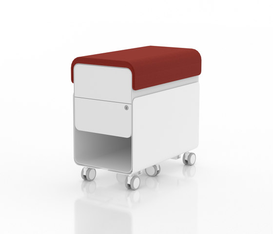 Revi | Dual Drawer Pedestal by AMQ Solutions | Pedestals