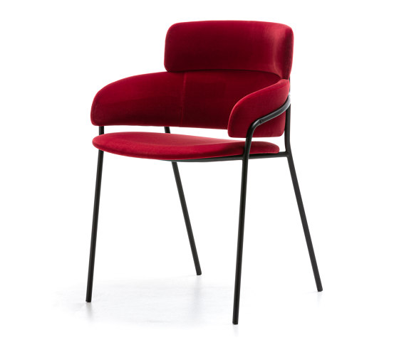 Strike Lo by Arrmet srl | Armchairs