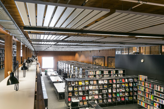 Chilled Ceiling Fins A61/A71 by Barcol-Air | Climate ceiling systems