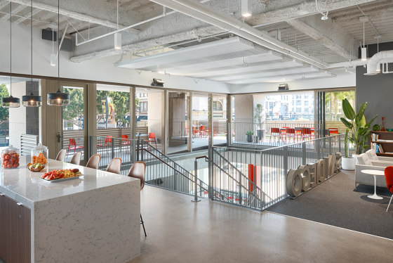 High Performance Fin WAVE by Barcol-Air   Climate ceiling systems