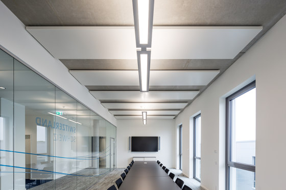 Hybrid Chilled Ceiling Module U4x by Barcol-Air | Climate ceiling systems