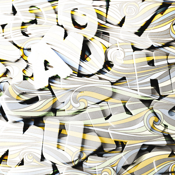 Lettering by Agena   Wall coverings / wallpapers