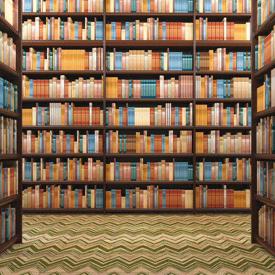 Library by Agena | Wall coverings / wallpapers