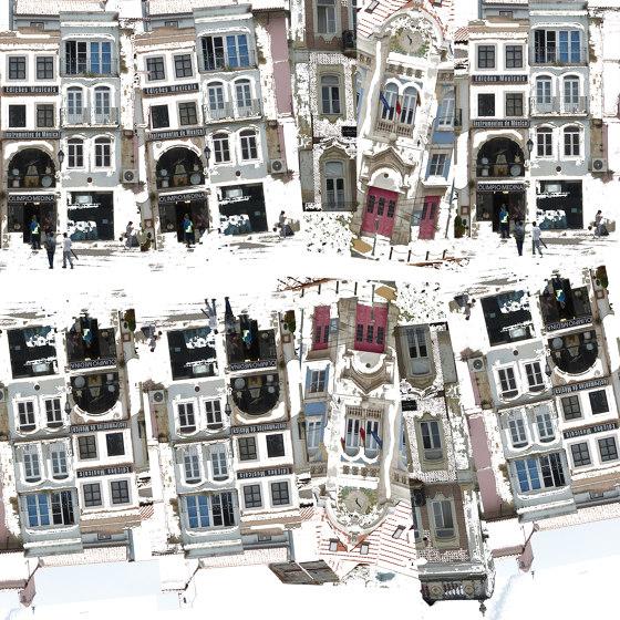 Miroir De La Ville by Agena | Wall coverings / wallpapers