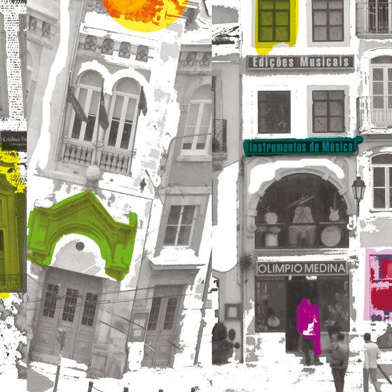 Miroir De La Ville Pop by Agena | Wall coverings / wallpapers