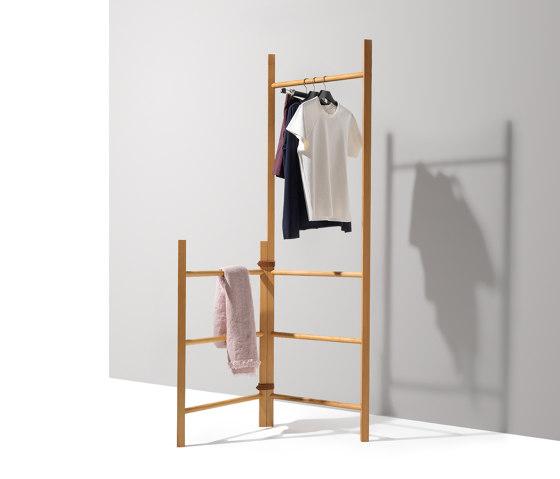 italic ladder by TEAM 7   Coat racks